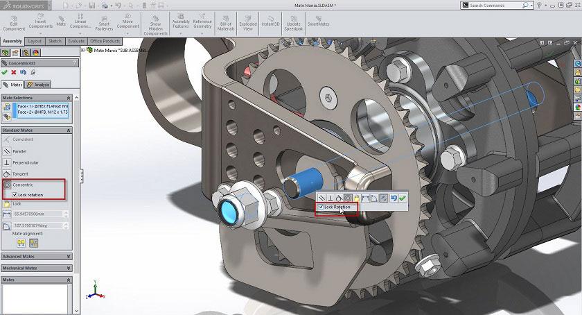 Solidworks projekte und hilfe CAD 2